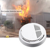 1 Pcs Fire Smoke Sensor Detector Alarm Tester 85dB Home Security System for Family Guard Office building Restaurant - Dailytechstudios