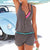 1 Piece Short Pants Suit Sexy Summer Beach Rompers Women's Jumpsuit Shorts Sleeveless Newest