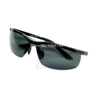 1 Pieces New Men Cool  Glasses Metal Frame Polarized Sunglasses 4 Colors - Dailytechstudios