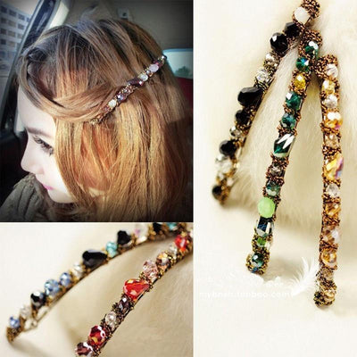 1 pcs Fashion Women Girls Hairpins Crystal Rhinestone Barrettes Hair Accessories 2017 Hot Sales Korean Style - Dailytechstudios