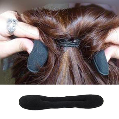 1 pcs Magic Hair Styling Ring Hairpins Disk Meatball Head Hair Accessories For Women Black Diy Sponge Headbands - Dailytechstudios