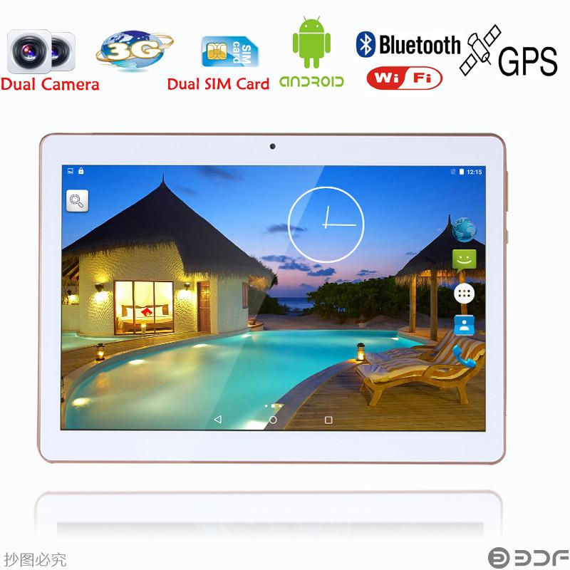 10 inch  Original 3G Phone Call  SIM card Android 5.1  Quad Core CE Brand WiFi GPS FM Tablet pc  2GB+16GB Anroid 5.1 Tablet Pc Phone Call Tablets Shenzhen Mon-top Technology Co.,Ltd 1- upcube
