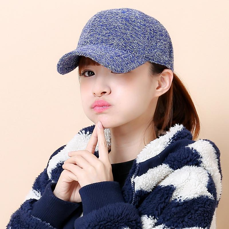 100% Cotton Double Color Knitting Hats Korean Baseball Cap Fashion Peak Cap for Women Snapback Gorras Casquette Adjustable Scarves BigBen's Store- upcube