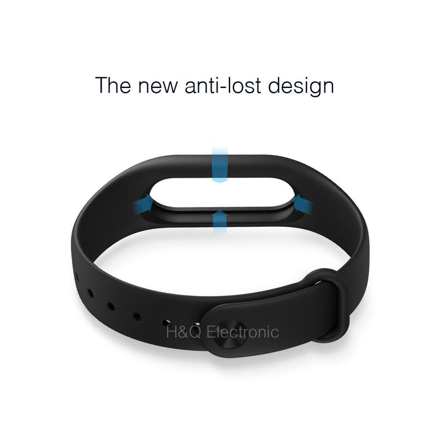 100% Original Xiaomi mi band 2 Strap Belt Silicone Colorful Wristband for Mi Band 2 Smart Bracelet for Xiaomi Band 2 Accessories Smart Wearable Accessories H&Q Electronic Store- upcube