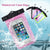 100% Sealed Mobile Waterproof Bags Phone Pouch Bag Underwater Case for iPhone 6/6 Plus/5S/5C/5/4S Samsung Galaxy S6/S5/S4 5
