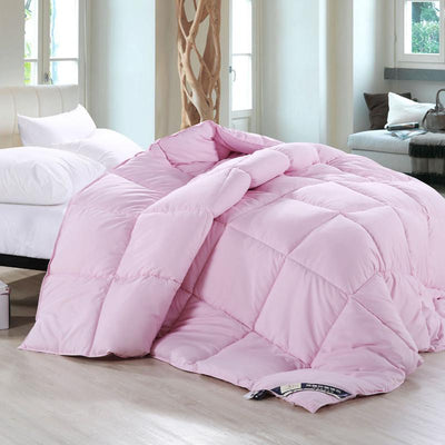 100% white warm Winter Goose Down Comforter Quilt Warmly White Comforter King Size Bedding Set king size christams gift
