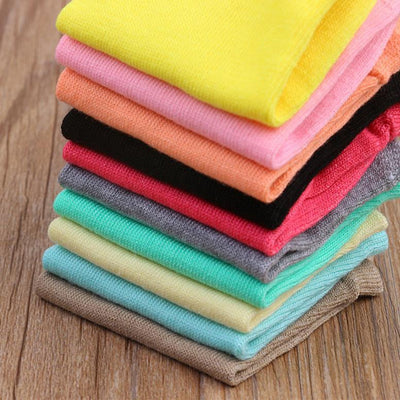 (10Pairs/lot)Wholesale Summer Solid Thin Short Women's Socks Female Cotton Low Cut Ankle Socks Ladies Colorful Cute Socks Boat - Dailytechstudios