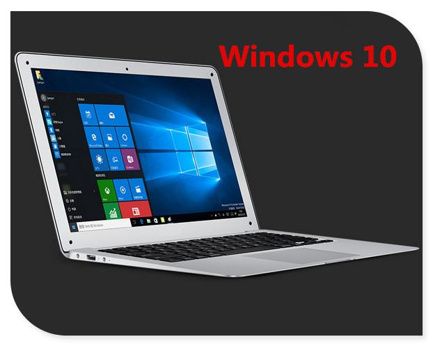 13.3inch windows 10 ultrabook laptop computer 2GB 64GB EMMC 1920*1080 HD screen aluminium back case notbook PC Laptop Laptop computers store- upcube