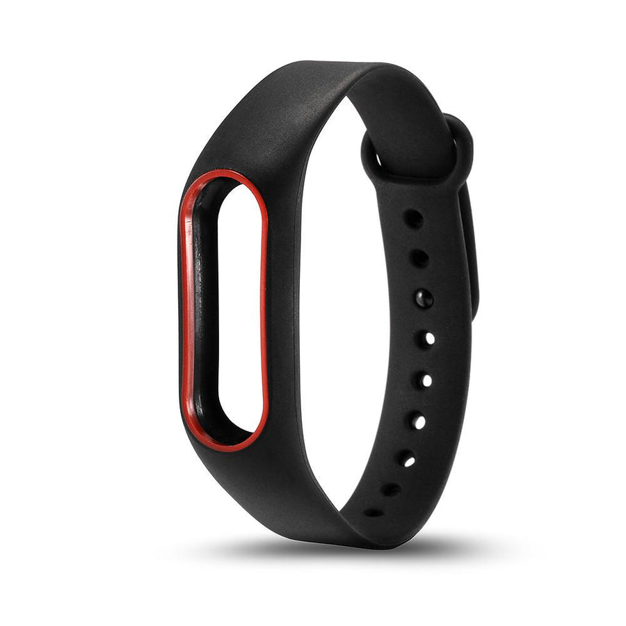 15 Colors Waterproof Silicone Belt Bracelet Double Colors Wristband Band Replace Accessories For Original Xiaomi Mi band 2