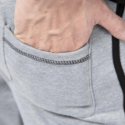 #1624 Spring/Fall Hip hop sweatpants for men Casual Loose Cotton trousers Mens joggers Grey color Harem pants men Pantalon homme - Dailytechstudios