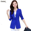 1PC Women Blazer Femenino Jaqueta Feminina Women Blazers And Jackets Spring Coat Plus Size One Button OL Suit Blaser Z518 Blazers Luzuzi Store- upcube