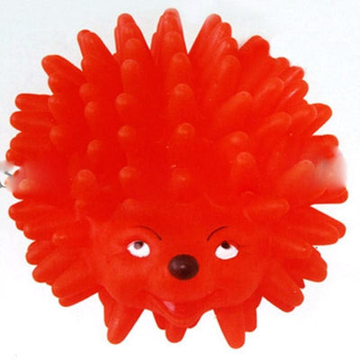1Pcs Mini Hedgehog Shape Pet Dog Puppy Squeaky Chew Toy Squeaker Ball Funny Toys Random Color Wholesale Dog Accessories PetsEden Store- upcube