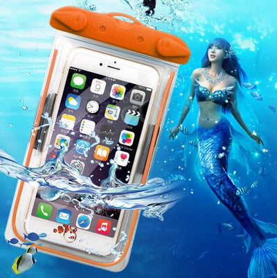 1pcs Outdoor travel swim dive submersible document package Mobile Phone Waterproof Bag case cover Mobile Phone Accessories Fitted Cases SmallStoneCarving Store- upcube