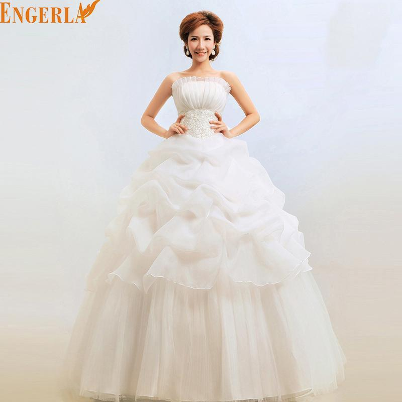 2 Color Red White 2016 Hot Sale Sweetange Korean Style Sweet Romantic  Ruffles Lace Princess Wedding 2af9cfd7c07c