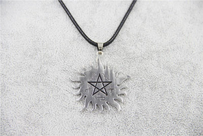 2015 Fashion Jewelry Silver Charm Supernatural Dean necklace For Men And Women Supernatural LORRY 's STORE- upcube