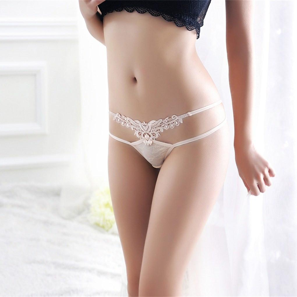 2016 Hot Ultra-thin Women s G-string Thong Transparent Sexy Panties  Underwear girl Cotton 857799764