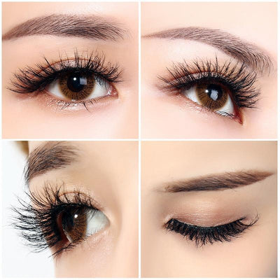 10 Pairs Handmade Natural Thick False Eyelashes Long Eye Lashes Extension SHY