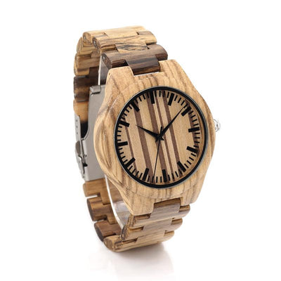 BOBO BIRD G22 Top Quality Wood Watch for Men Wristwatches Wooden Fashion Brand Designer Full Zebra Watches Carton Gift Box Mens Watches BOBO BIRD Official Store- upcube