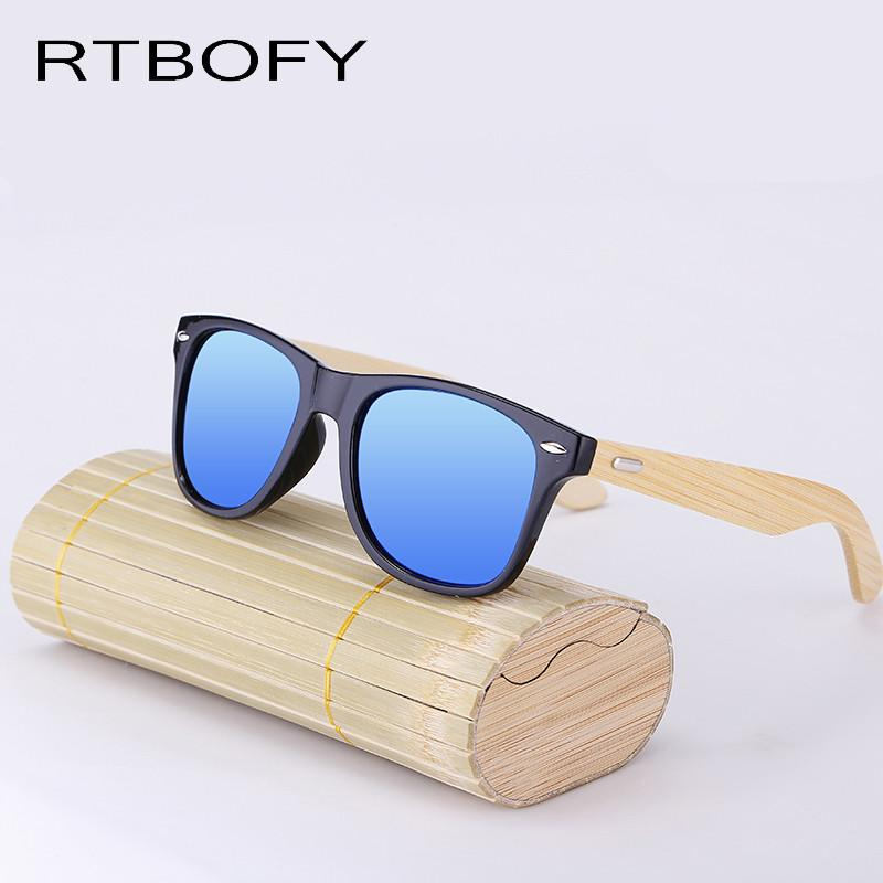 8c7e802378 Bamboo Sunglasses Men Wooden glasses Women Brand Designer Original Wood Sun  Glasses Women Men Oculos
