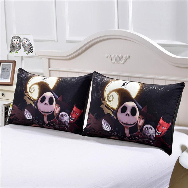 beddingoutlet nightmare before christmas bedding set qualified bedclothes unique design no fading duvet cover twin full - The Nightmare Before Christmas Bedding