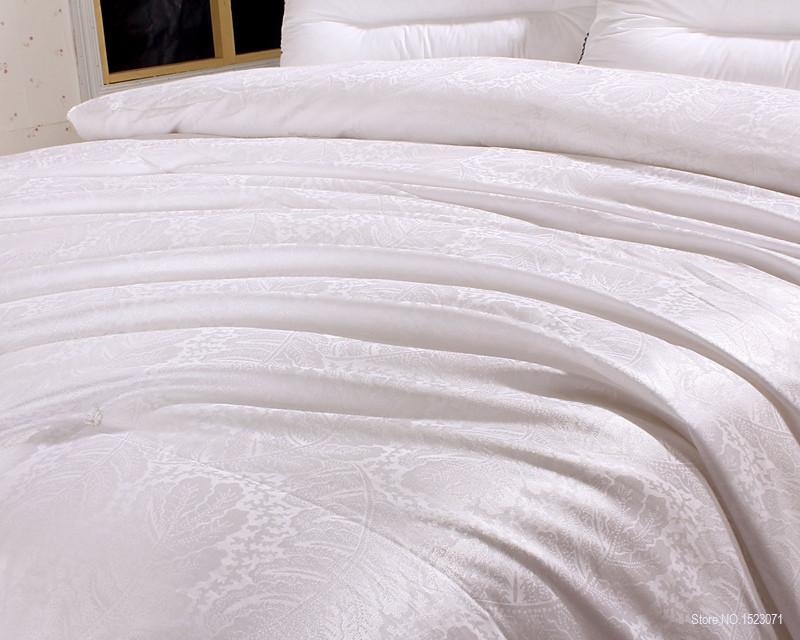 0d9409e16c Brand 100% mulberry silk comforter for winter summer king queen full twin  size white