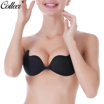 795e01b02f8c9 COLLEER Sexy BH Lace Bralette Super Push Up Bra Silicone Bra Stick On Seamless  Strapless Invisible