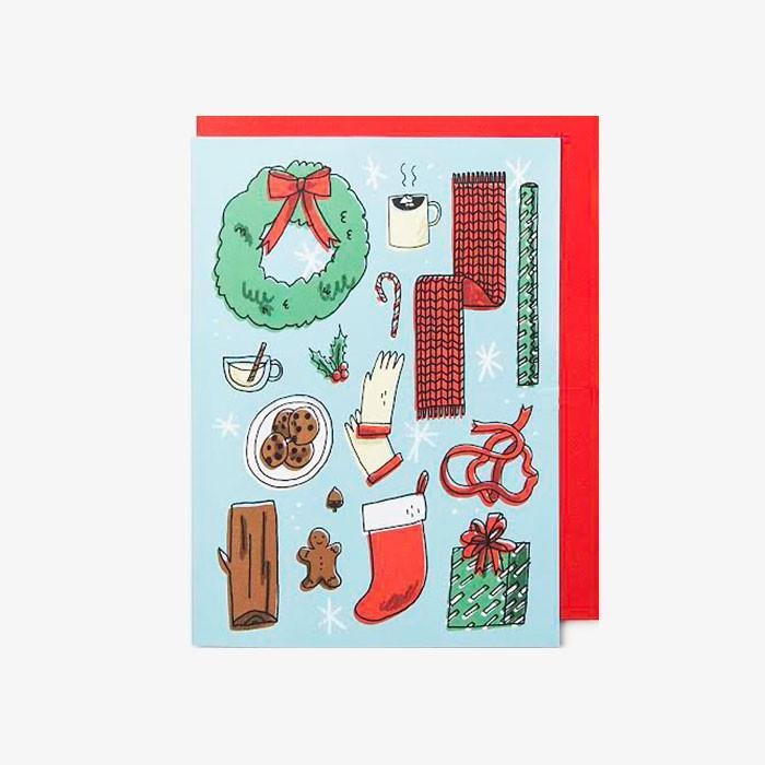 #5861 - Favorite Things Holiday Card - Dailytechstudios
