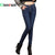 {Guoran}2017 Winter Warm jeans Pants Women's Thicken Velvet denim trousers Femme Pantalon jeans leggings Stretch Plus Size 33 34