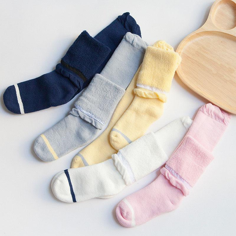 0-3 Years Clothing Knitted Soft Pantyhose Long Cotton Tights Socks Baby Girls - Dailytechstudios