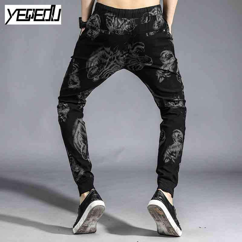 #1655 2017 Space cotton 3d print Hip hop pants Joggers Harajuku sweatpants Stretch Casual harem pants men Pantalon hombre 4XL