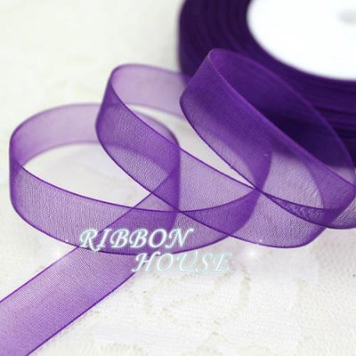 (50 yards/roll) 1/2''(12mm) organza ribbons wholesale gift wrapping decoration Christmas ribbons - Dailytechstudios