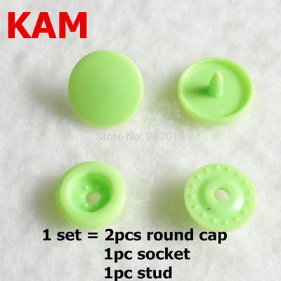 1000sets T5 Size16 KAM Plastic Resin Snaps Buttons fasteners for DIY Garments Sewing Craft Cloth Bib Diaper  UpCube- upcube