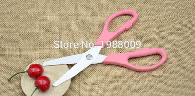 1Pcs Kitchen Ceramic Scissors kitchen scissors brand baby food supplement food supplement for children scissors scissors knife  dailytechstudios- upcube