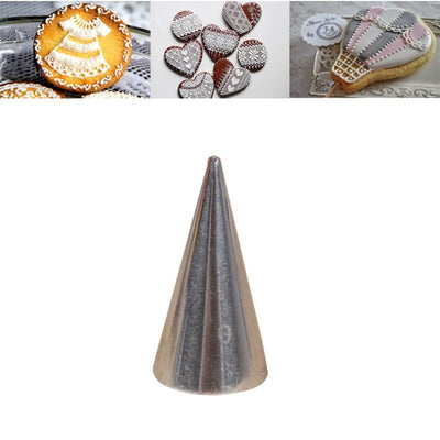 1 piece 0.5mm Baking Cake Tips Decoration cake Nozzles Cupcake Stainless Steel Cake Piping Tools - Dailytechstudios