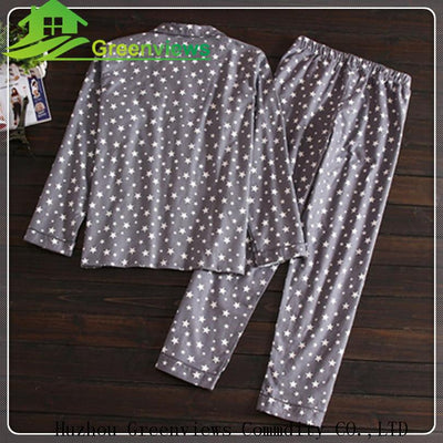 (1piece/lot) 2017HOT Men's autumn/winter long-sleeved trousers flannelette dress with grey stars - Dailytechstudios