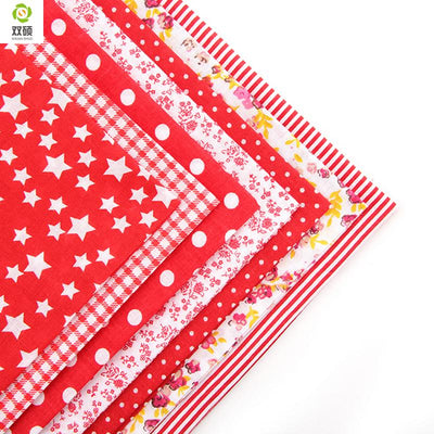 100% Tissus Cotton Fabric Telas Patchwork Fabric Fat Quarter Bundles Fabric For Sewing Patchwork Doll Cloths 50*50 CM 56PCS/LOT