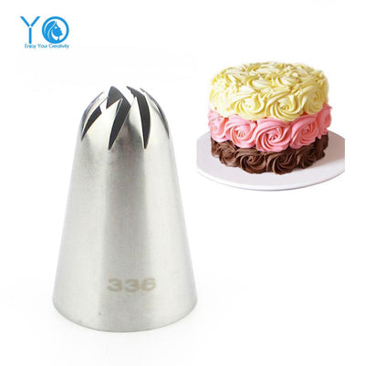 #336 Large Size Icing Nozzle Decorating Tip Sugarcraft Cake Decorating Tools Baking Tools Bakeware - Dailytechstudios