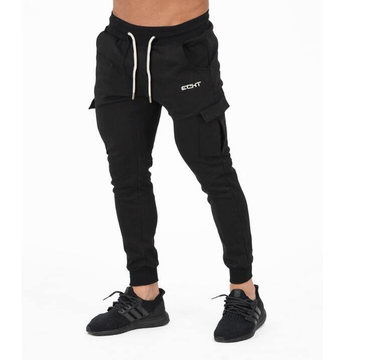2017 Autumn Winter Men's Leisure Straight Men's Trousers Fashion Casual Bodybuilding Clothing