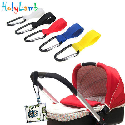 1 Pcs Pushchair Stroller Hook Shopping Bag Clip Baby Stroller Accessories Convenient Hooks Car Hanging Strap Baby Carriages - Dailytechstudios