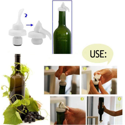 1 Pcs Flip Top Bottle Lids Vacuum Sealed Wine Beer Stopper Cap New - Dailytechstudios