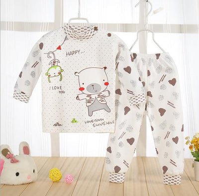 (2pcs/set)cheapest Newborn Baby Clothing Set Brand Baby Boy/Girl Clothes 100% Cotton Cartoon Underwear,Free Shipping NT046 - Dailytechstudios