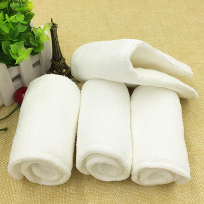 (5pcs/lot)Reusable Newborn Diaper Inserts 4 layer Microfiber Soft Material Baby Infant Cloth Diaper Nappy Liner Absorbent Insert - Dailytechstudios