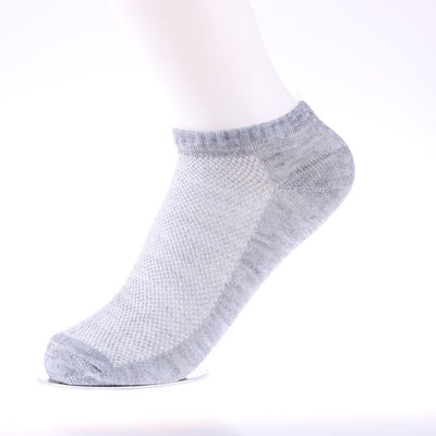 1Pair Unisex Men Women Casual 9-11 10-13 Crew Ankle Cut Soft Breathable Socks Black White Gray New Crew Socks  dailytechstudios- upcube