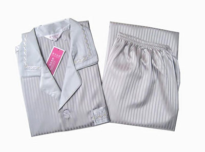 (1 Set/Lot) Silk homewear, Men pajamas, Including(Clothes+Pants), Size L, XL, XXL, Long-sleeve 2 Colors in Stock - Dailytechstudios