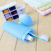 1Pcs Portable Travel Camping Toothbrush Cover Protect Case Box Keeping Toothbrushes Hygenic Clean 8 Colors Toothpaste Holder  UpCube- upcube
