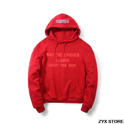Best Version Vetements Women Men Hoodies Sweatshirts Hiphop Streetwear Autumn Kanye Brand Hoodies Oversized Hoodie Pullovers  dailytechstudios- upcube