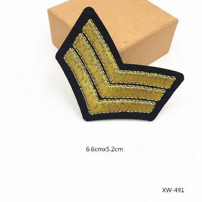 1 PCS Military Patches Cloth Stickers for Clothes Decoration Parches Bordados Patch for Clothing Iron - Dailytechstudios