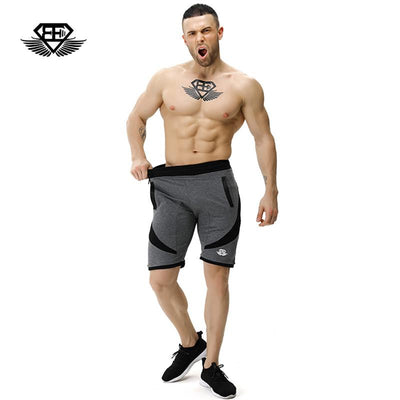 Body engineers 2017 men's summer Bodybuilding fitness loose board shorts men gyms stretch breathable casual Cotton shorts  dailytechstudios- upcube