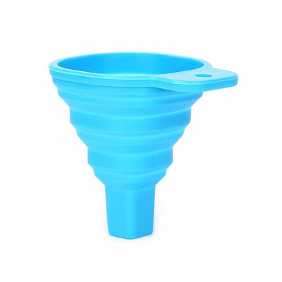 1pcs Mini Silicone Gel Foldable Collapsible Style Funnel Hopper Kitchen Cozinha Cooking Tools Accessories Gadgets Outdoor K0128  UpCube- upcube