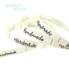 (10 yards/lot) 10mm White printed Handmade ribbon colored romantic gift wrap ribbons - Dailytechstudios